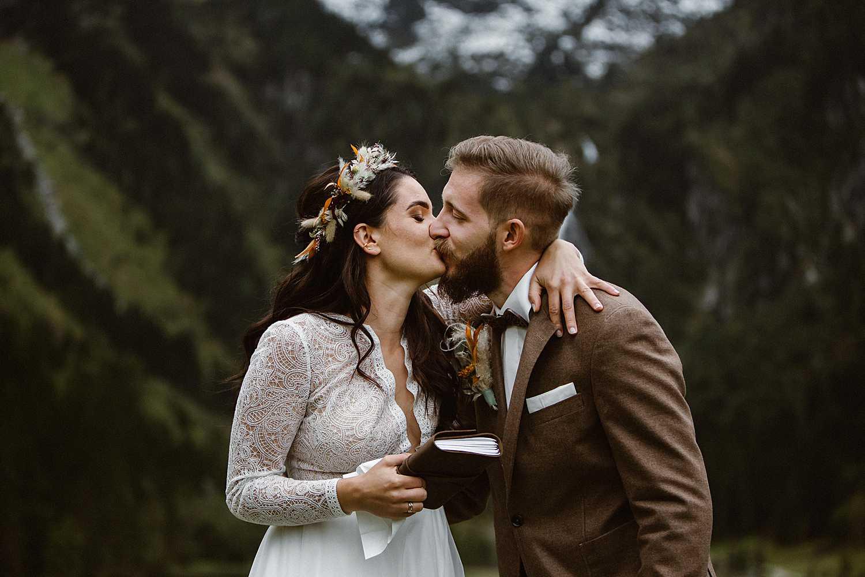 Emotionales Eheversprechen Hochzeit