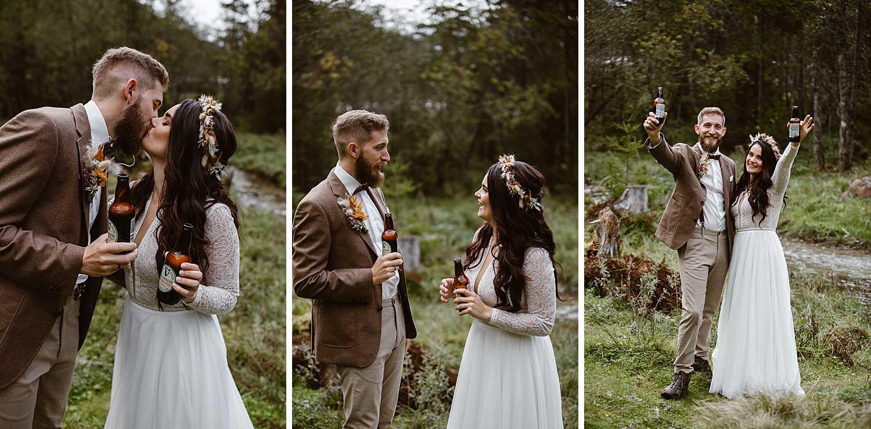 Guinness Brautpaar