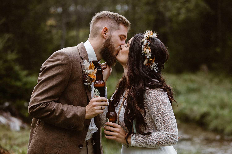 Hochzeit mit Guinness