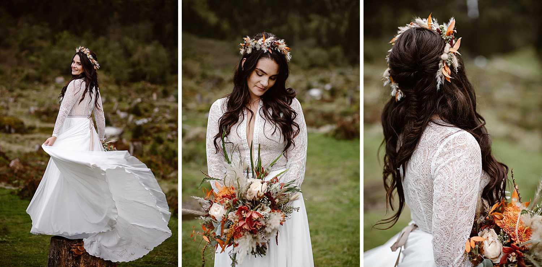 Brautlook Boho Hochzeit